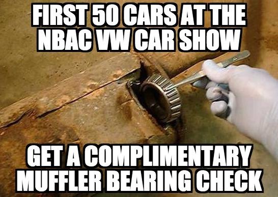 Muffler Bearing